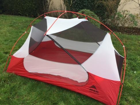1ère partie de la tente
